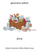 alicia - geronimo stilton