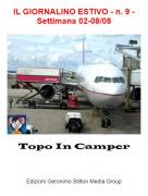 Topo In Camper - IL GIORNALINO ESTIVO - n. 9 - Settimana 02-08/08