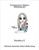 RatoMary12 - Campamento MágicoPERSONAJES