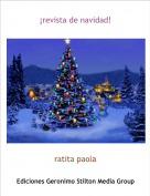 ratita paola - ¡revista de navidad!