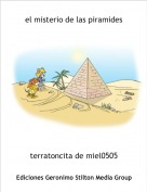 terratoncita de miel0505 - el misterio de las piramides