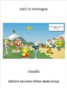 claudia - tutti in montagna