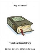 Topolina Boccoli Doro - ringraziamenti
