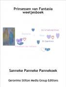 Sanneke Panneke Pannekoek - Prinsessen van Fantasia weetjesboek