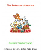 Author: Teacher Sarah - The Restaurant Adventure