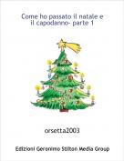 orsetta2003 - Come ho passato il natale e  il capodanno- parte 1
