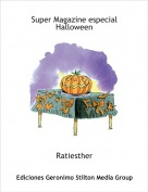 Ratiesther - Super Magazine especial Halloween
