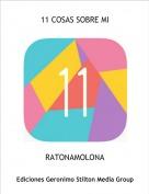 RATONAMOLONA - 11 COSAS SOBRE MI