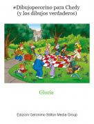 Gloria - #Dibujopecorino para Chedy (y los dibujos verdaderos)