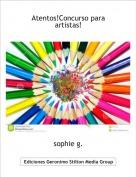 sophie g. - Atentos!Concurso para artistas!