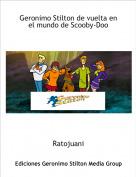 Ratojuani - Geronimo Stilton de vuelta en el mundo de Scooby-Doo