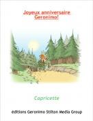 Capricette - Joyeux anniversaire Geronimo!