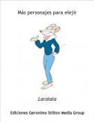 Laralala - Más personajes para elejir