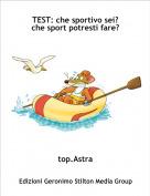 top.Astra - TEST: che sportivo sei?che sport potresti fare?