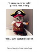 fero&I suoi adorabili Micioni!. - Vi presento i miei gatti!(Con le vere foto!!!)