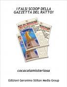 cocacolamisteriosa - I FALSI SCOOP DELLA GAZZETTA DEL RATTO!