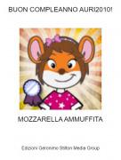 MOZZARELLA AMMUFFITA - BUON COMPLEANNO AURI2010!