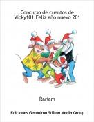 Rariam - Concurso de cuentos de Vicky101:Feliz año nuevo 201