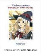 Alejandra - Witches AcademyPersonajes Confirmados