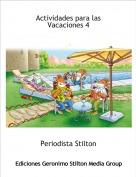 Periodista Stilton - Actividades para las Vacaciones 4