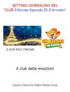 Il club delle emozioni - SETTIMO GIORNALINO DEL CLUB Edizione Speciale III d'Avvento!