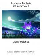 Miaaa Ratonica - Academia Fantasia(30 personaje )