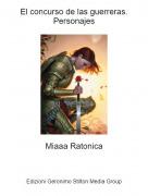Miaaa Ratonica - El concurso de las guerreras.Personajes