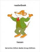 hassen - raadselboek