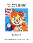 larafontina - Libro de efectos para elconcurso de QUESITO