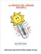 RATONTONI - LA REVISTA DEL VERANO   EDICION:2