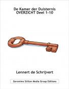 Lennert de Schrijvert - De Kamer der DuisternisOVERZICHT Deel 1-10