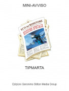 TIPMARTA - MINI-AVVISO