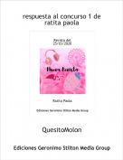 QuesitoMolon - respuesta al concurso 1 deratita paola