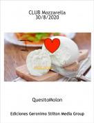 QuesitoMolon - CLUB Mozzarella30/8/2020