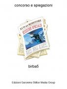 birba5 - concorso e spiegazioni