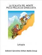 Letopia - LA SCALATA DEL MONTE PICCO PELLICCIA GHIACCIATA