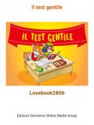 Lovebook2806 - Il test gentile