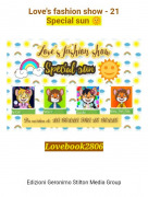 Lovebook2806 - Love's fashion show - 21Special sun 🌞
