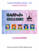 Lovebook2806 - Love's fashion show - 23Special Disney