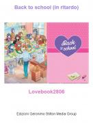 Lovebook2806 - Back to school (in ritardo)