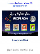 Lovebook2806 - Love's fashion show 19Special moon