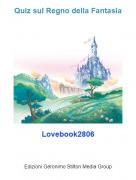 Lovebook2806 - Quiz sul Regno della Fantasia