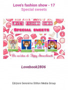 Lovebook2806 - Love's fashion show - 17Special sweets