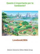 Lovebook2806 - Quanto è importante per te l'ambiente?