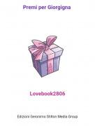 Lovebook2806 - Premi per Giorgigna