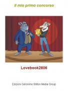 Lovebook2806 - Il mio primo concorso