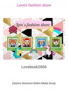 Lovebook2806 - Love's fashion show