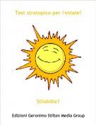 Siliabilia1 - Test stratopico per l'estate!