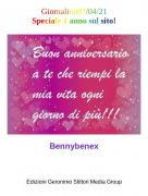 Bennybenex - Giornalino07/04/21Speciale 1 anno sul sito!