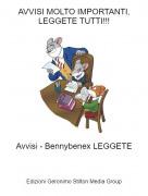 Avvisi - Bennybenex LEGGETE - AVVISI MOLTO IMPORTANTI, LEGGETE TUTTI!!!